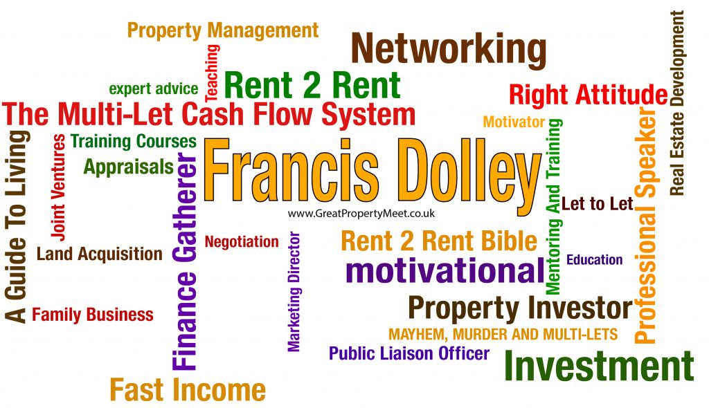Word Map - Francis Dolley