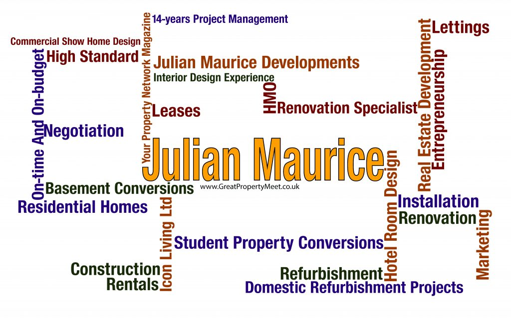 Word Map - Julian Maurice